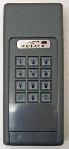 4200 Multicode Linear Wireless Keypad Works W 3089 4120