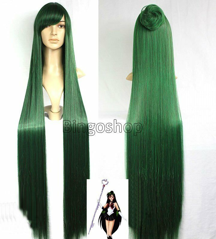 1.3m NEW Sailor Moon Sailor Pluto Meiou Setsuna Long