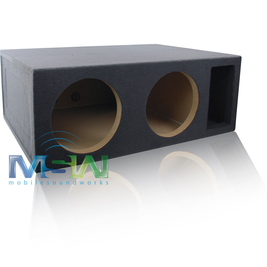 5 0 cubic foot custom ported 2 12 subwoofer box for Box subwoofer in vetroresina