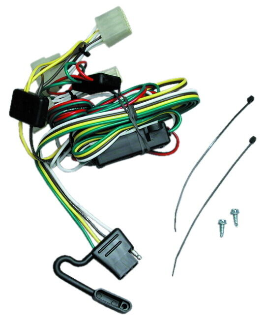 trailer hitch wiring kit 1995-2004 toyota tacoma |1989 ... toyota tacoma trailer hitch wiring harness