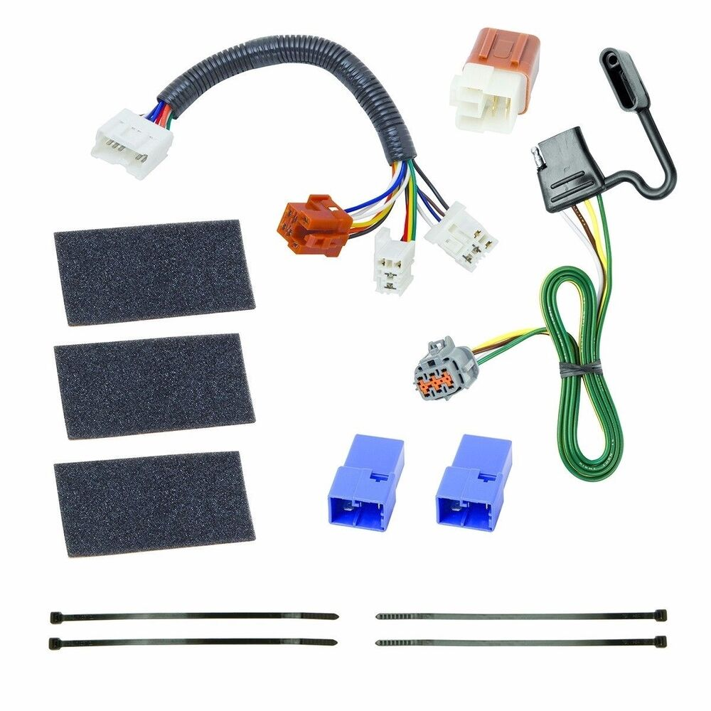 tekonsha 118525 trailer hitch wiring fits nissan frontier. Black Bedroom Furniture Sets. Home Design Ideas