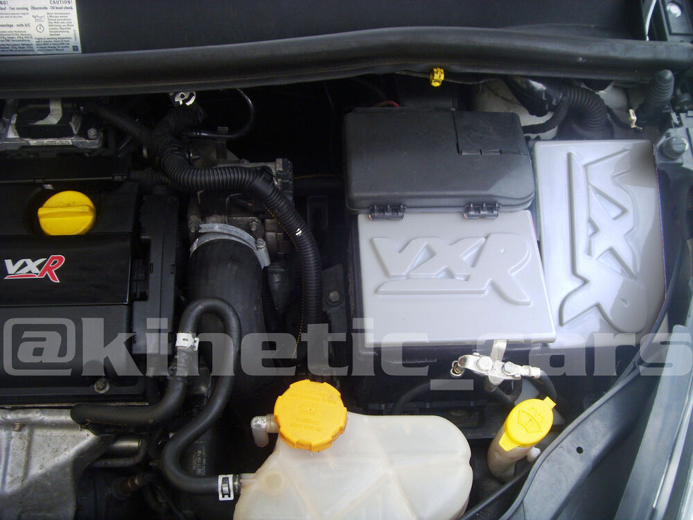 Vauxhall corsa d vxr paintable battery and fusebox covers