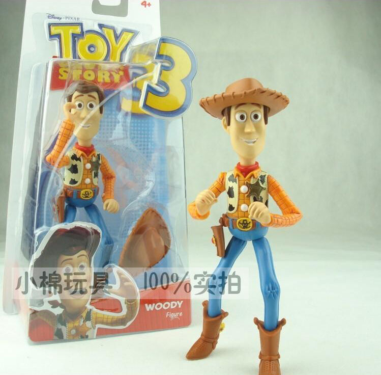 ORIGINAL DISNEY TOY STORY 3 SHERIFF WOODY 18CM(7 INCHES) ACTION FIGURE ...