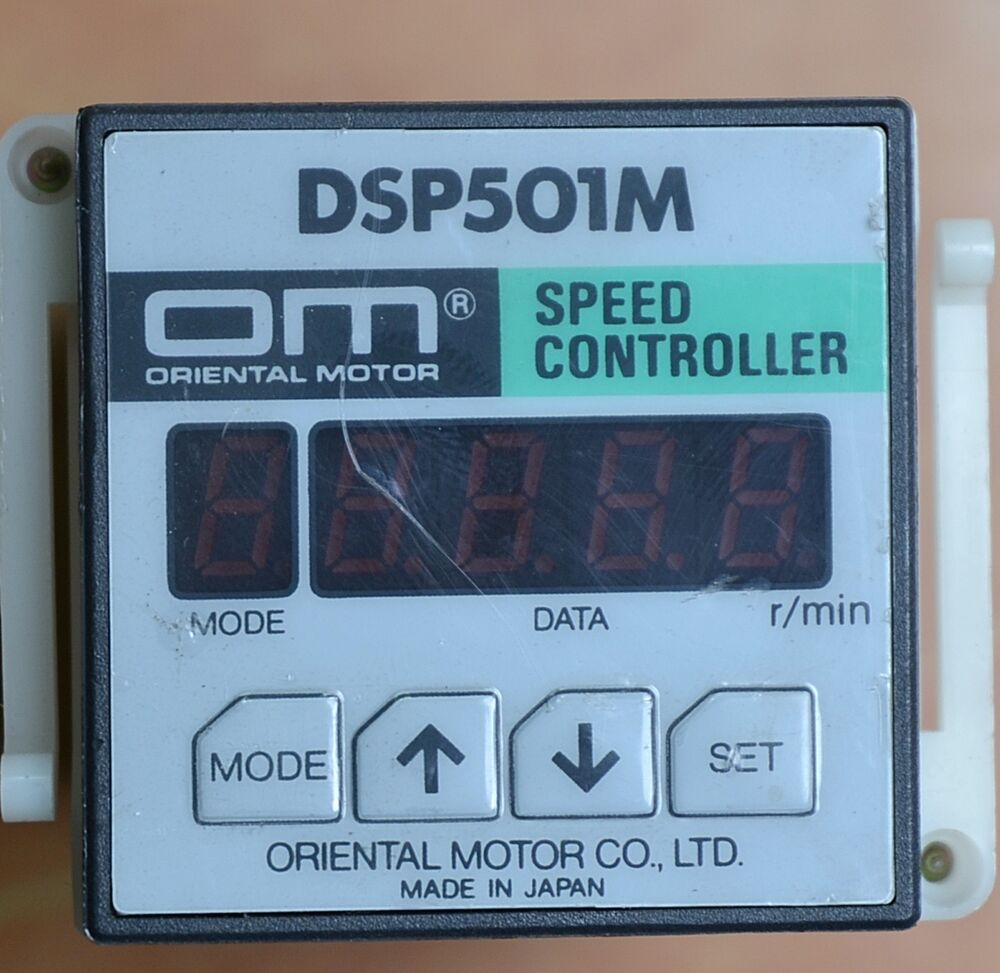 Oriental Motor Speed Controller Dsp501m With Base Ebay