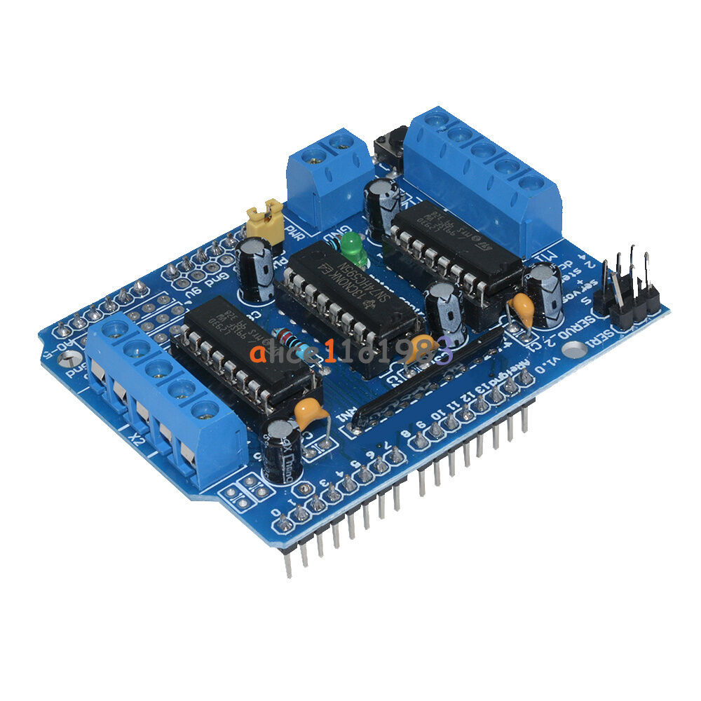 Motor drive shield expansion board l d for arduino
