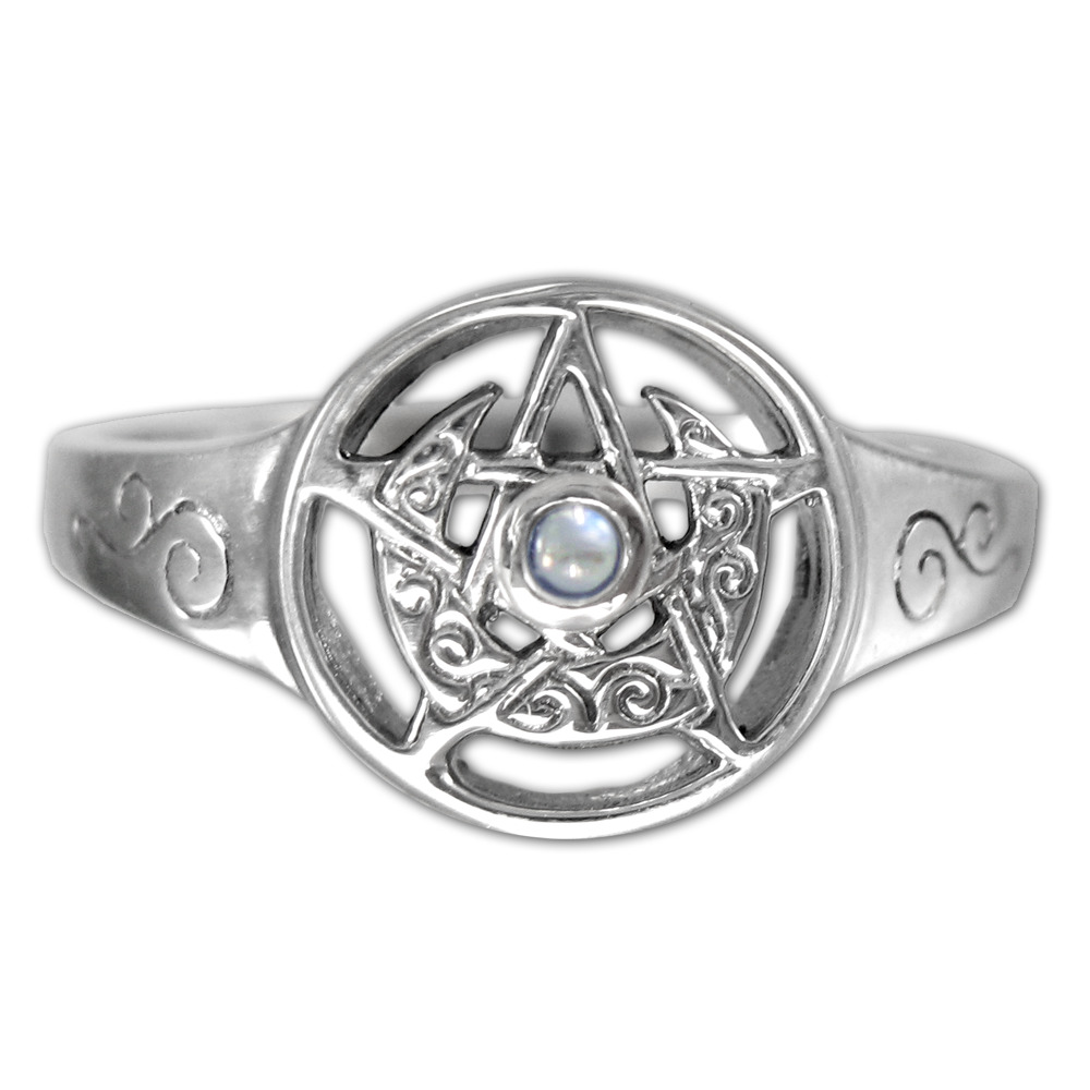 Pentacle Ring Silver