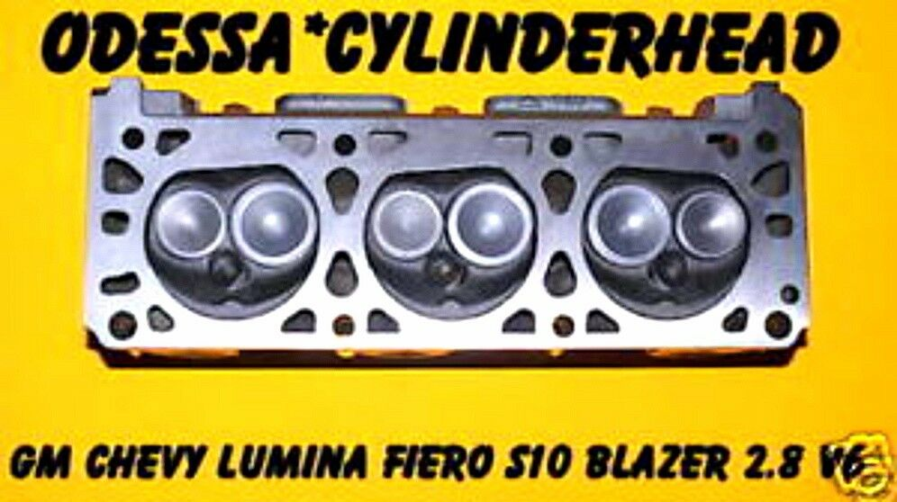 gm chevy lumina fiero s10 blazer 2 8 v6 cylinder head rebuilt ebay. Black Bedroom Furniture Sets. Home Design Ideas