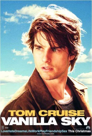 vanilla sky movie poster tom cruise cameron diaz ebay. Black Bedroom Furniture Sets. Home Design Ideas