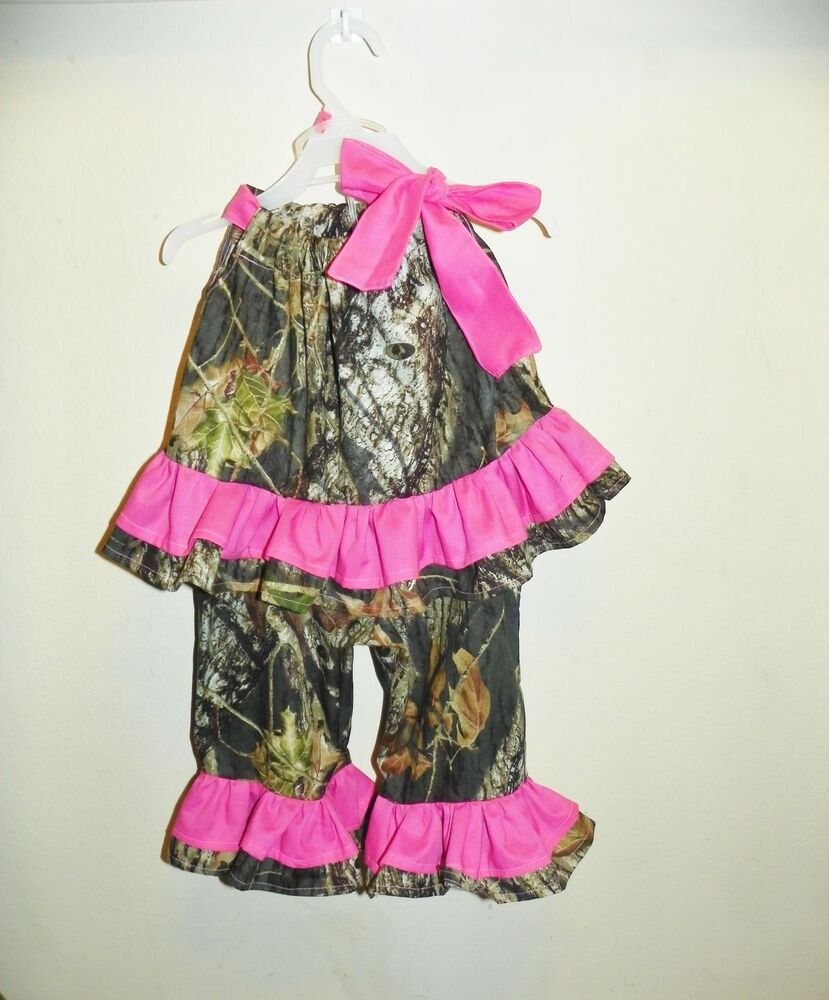 Toddler & Baby Camo Clothing Our selection of infant and toddler clothing includes sets from Browning and great items in Highland Timber & Pink Forest Camo. Whatever the season, we will have your little one looking stylish in our onesies, mittens, booties, fleece sets and more!