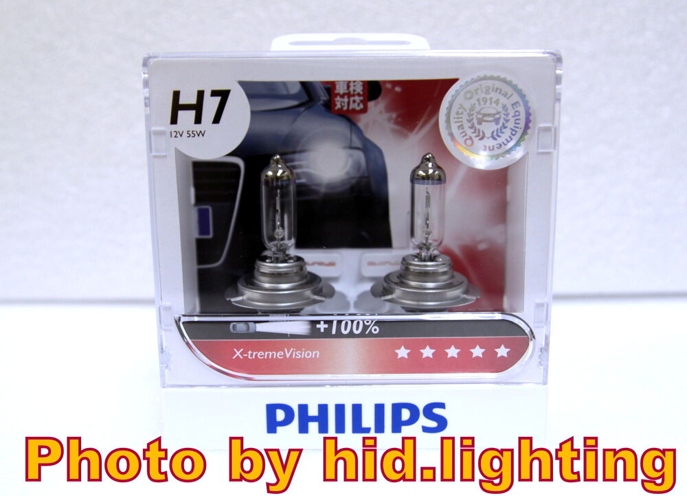genuine philips x treme xtreme vision h7 100 headlight. Black Bedroom Furniture Sets. Home Design Ideas