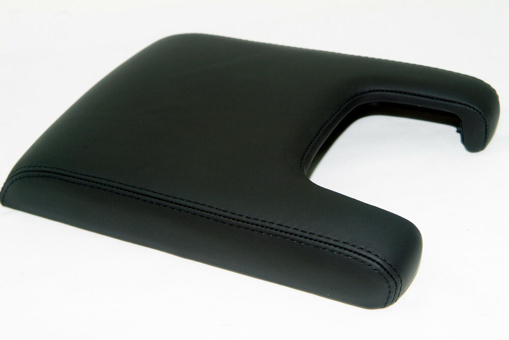 Armrest Center Console Lid Cover Leather Synthetic For