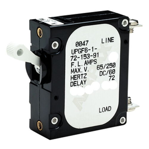 20 amp ac or dc panel mount toggle circuit breaker and. Black Bedroom Furniture Sets. Home Design Ideas