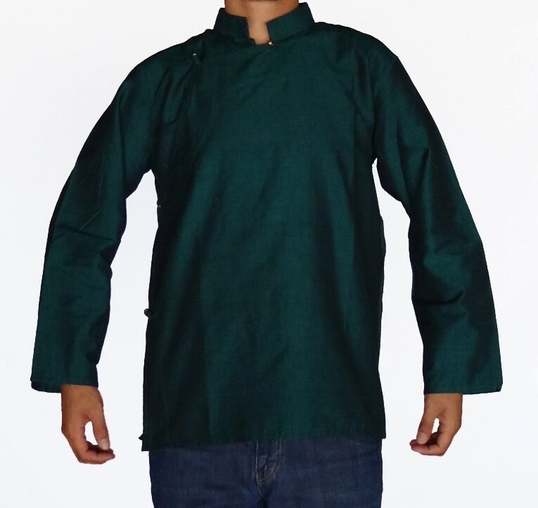 traditional tibetan shirt for or cotton green ebay