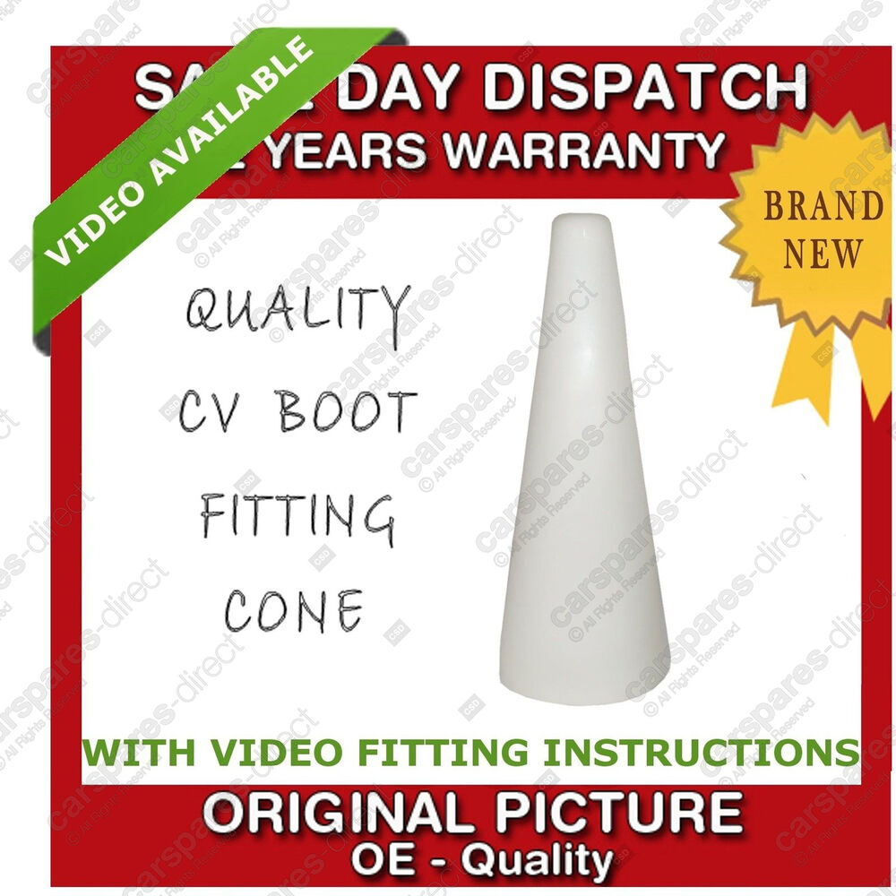 cone tool for fitting cv boot cv joint driveshaft brand