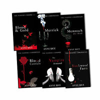 Anne Rice The Vampire Armand Chronicles 6 Books Collection Set Blood and Gold BN