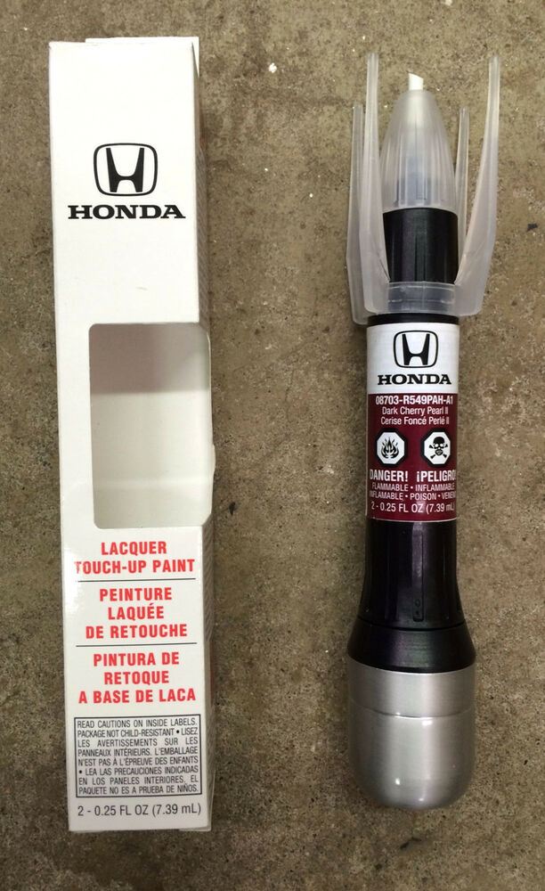 genuine honda touch  paint  rp dark cherry pearl ii ebay