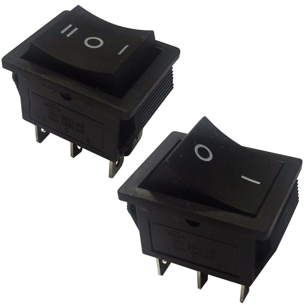 momentary latching rocker switch 6 pins 2 circuits 16a. Black Bedroom Furniture Sets. Home Design Ideas