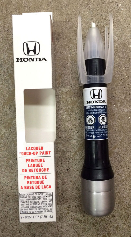 How To Touch Paint Honda Civic