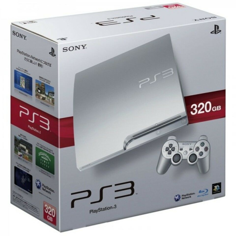 Free Ps3 Console: PS3 320GB Console Limited Edition SILVER + 2 Controllers