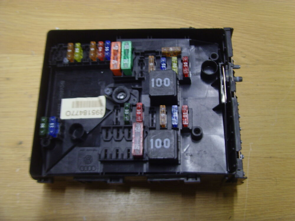 Fuse Box Golf 1 : Volkswagen golf mk fuse box k d ebay