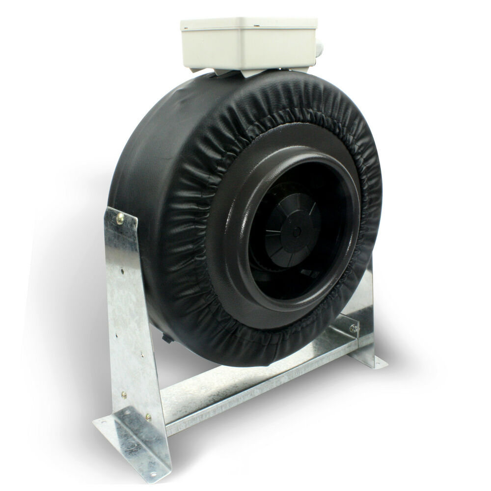 4 Inch Fan : Quot inch inline fan exhaust blower ventilation duct