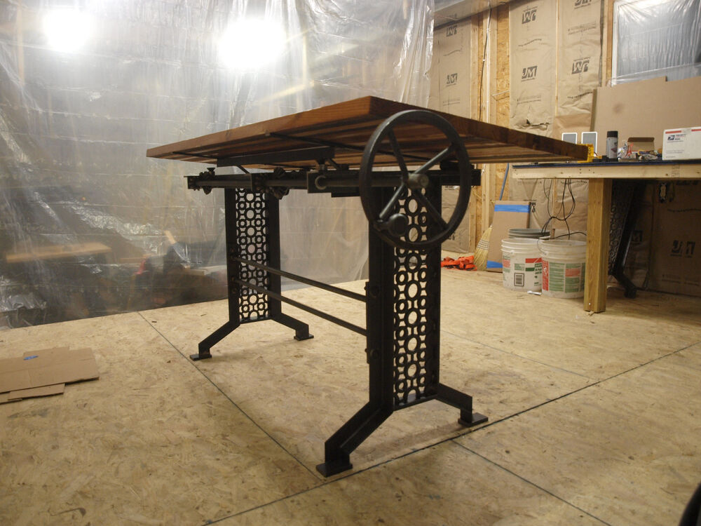 Elegant Iron Machine Table Base Legs Industrial Furniture