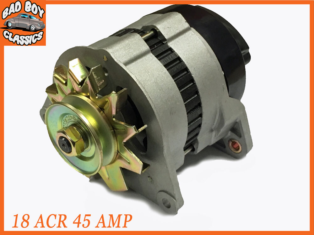 18 ACR 45 Amp Brand New Complete Alternator With Pulley & Fan | eBay