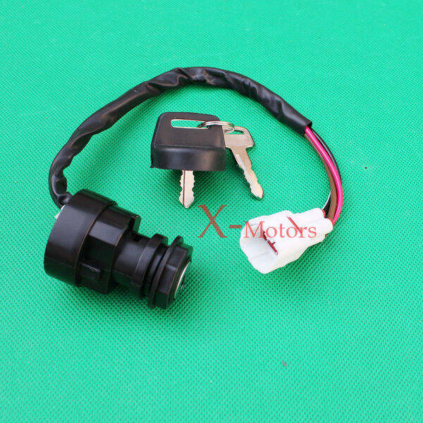 4 wire ignition key switch yamaha grizzly 600 yfm600 1999. Black Bedroom Furniture Sets. Home Design Ideas