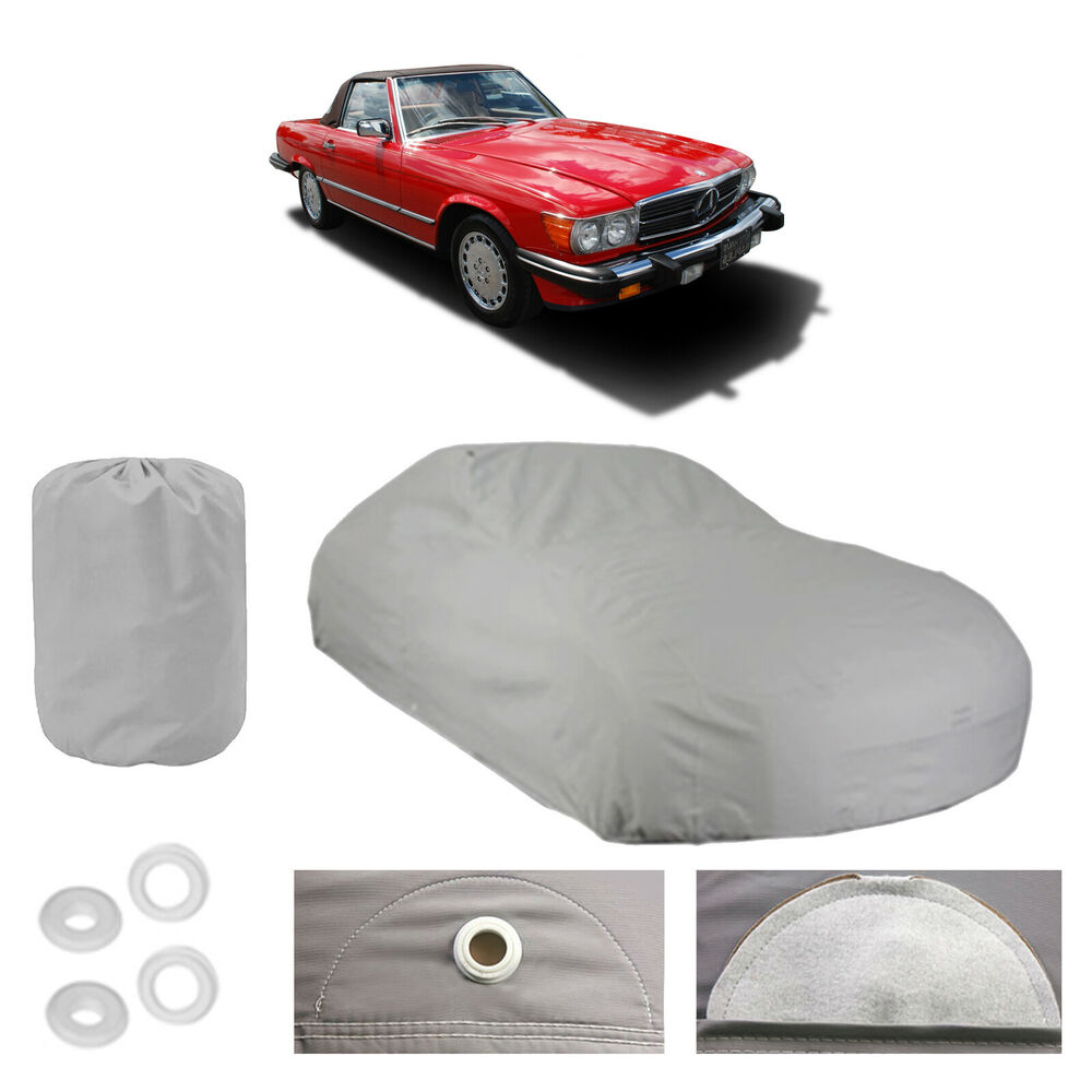 Mercedes benz 560 sl 4 layer car cover fit outdoor water for Mercedes benz car covers