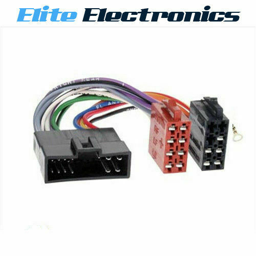 Iso Plug Wiring Harness Loom For Kia Rio Spectra Sportage