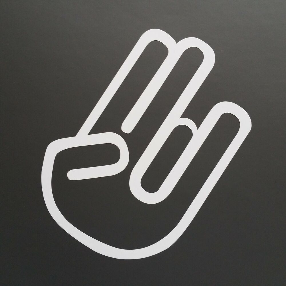 the shocker hand auto aufkleber sticker jdm oem dub tuning. Black Bedroom Furniture Sets. Home Design Ideas