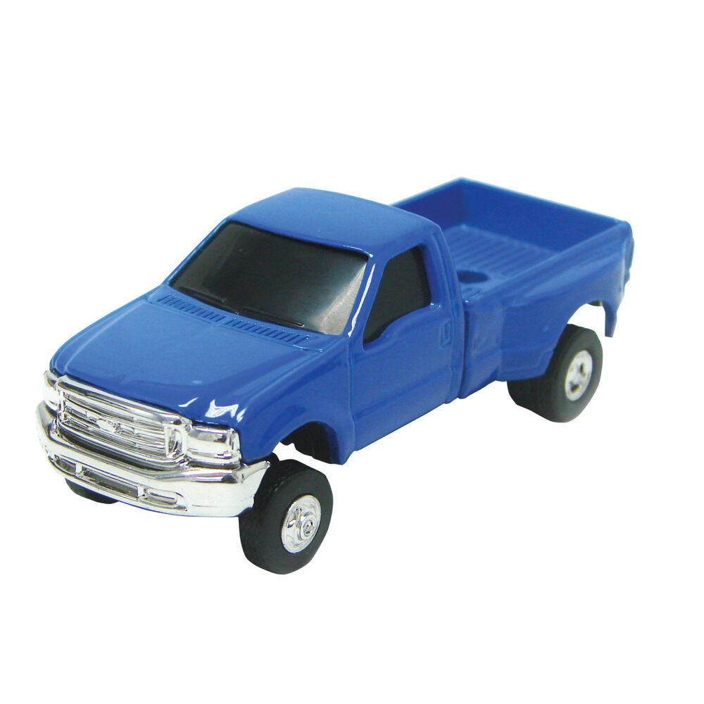 1 64 ertl ford f 350 blue dually pickup ebay. Black Bedroom Furniture Sets. Home Design Ideas