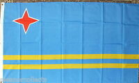 Aruba Flag 5x3 Caribbean Lesser/Dutch Antilles Holidays Tourism Sports Hotels bn