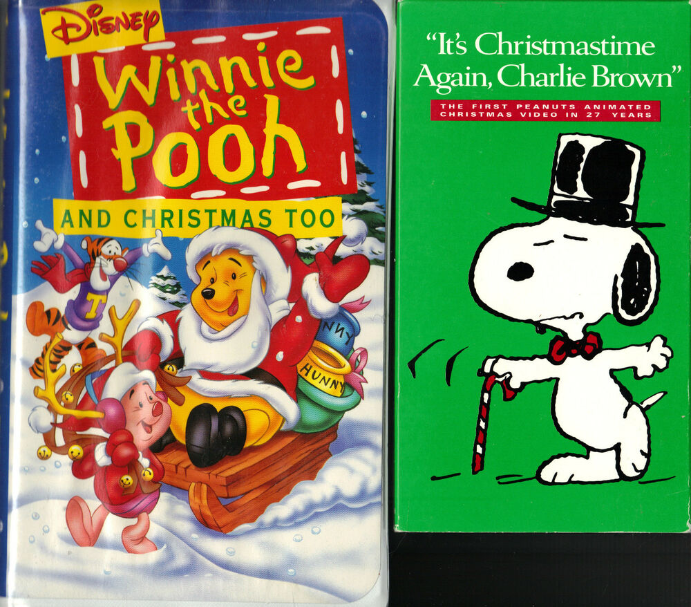 Winnie The Pooh And Christmas Too & It's Christmastime