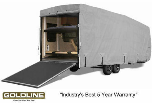 Goldline Rv Trailer Toy Hauler Cover Fits 24 To 26 Foot