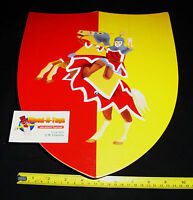 Wooden Toy Knight's Shield - Horse & Rider