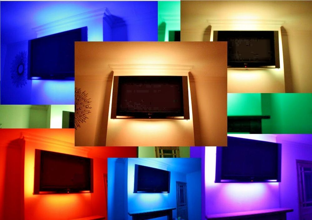 3x61cm super light led mood lighting ideas tv back lights for Mood light designs