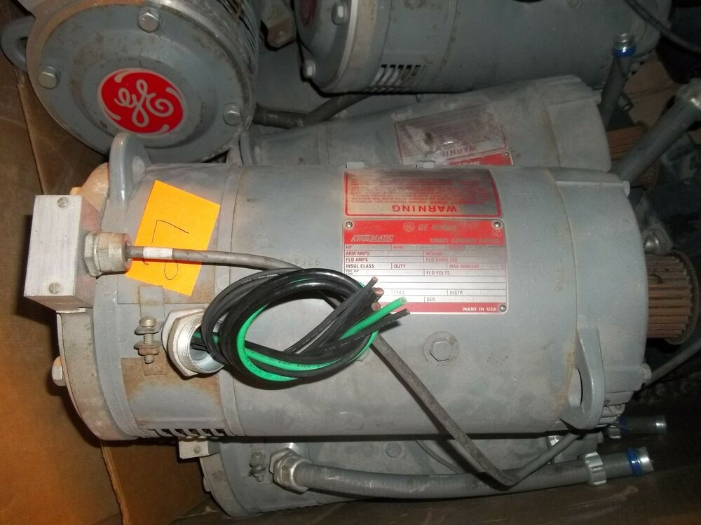 General Electric Kinamatic 5hp Dc Motor 5cd144fa002b0