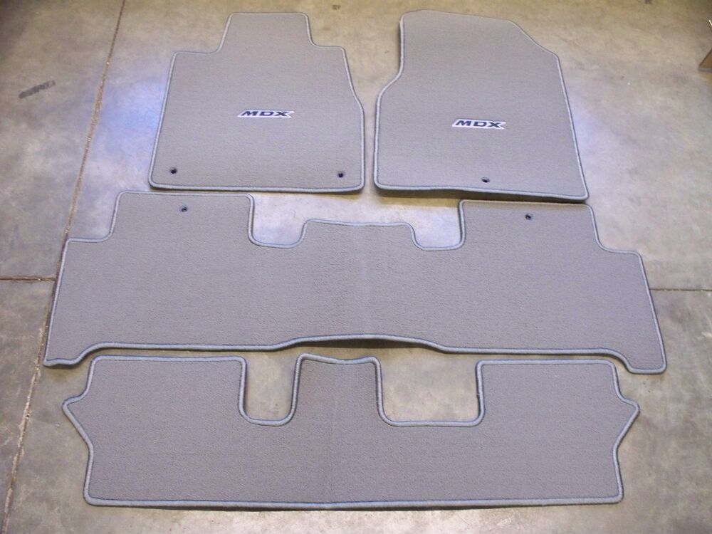 Genuine Oem 2007 2013 Acura Mdx Medium Gray Carpet Floor