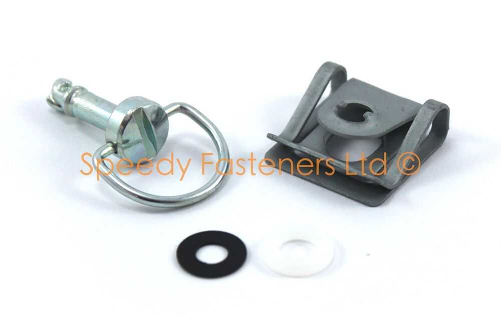D Ring Quarter Turn Fasteners