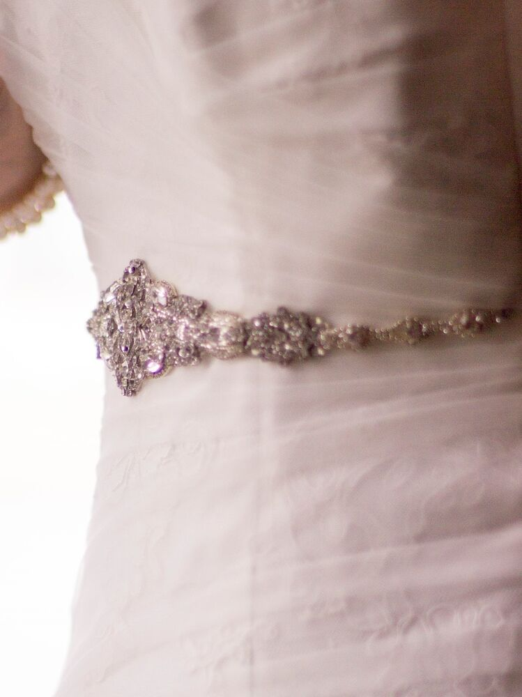 victorian bridal brooch art deco bustier wedding dress