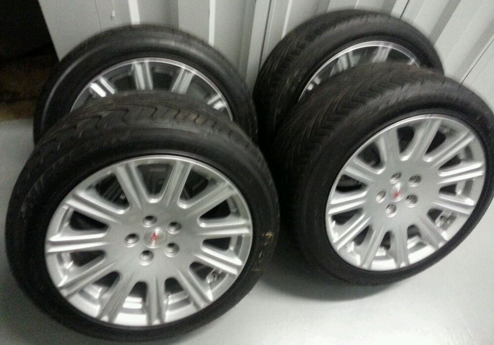18 inch maserati quatroportte oem wheels tires rims ebay. Black Bedroom Furniture Sets. Home Design Ideas