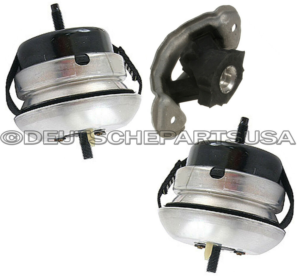 Jaguar S Type 4 2 V8 Left Right Engine Motor Transmission Mount Mounts Set 3 Ebay