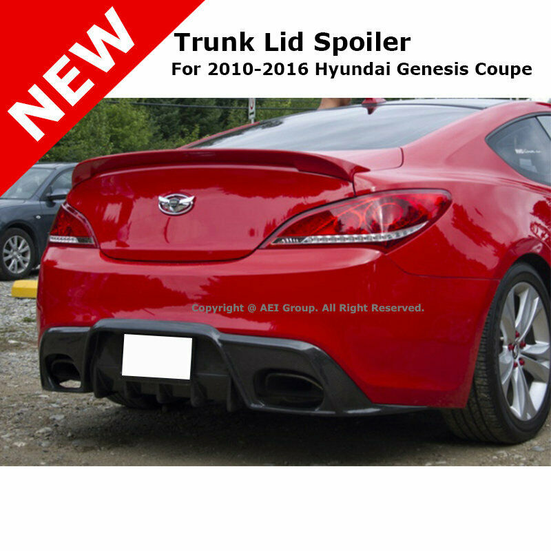 Hyundai Genesis Two Door: For: Hyundai Genesis Coupe 10-14 Trunk Spoiler Painted