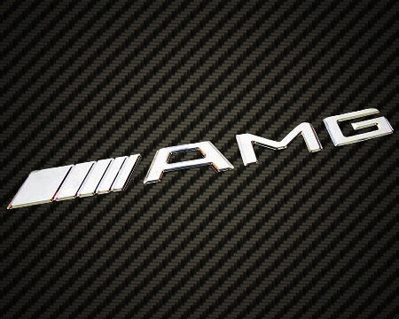 Mercedes benz amg logo emblem badge chrome cl slk sl c63 for Mercedes benz insignia