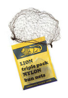 Lion Bunnets Triple Pack Blond Black Dark Brown Light Brown Ballet Bun Hair