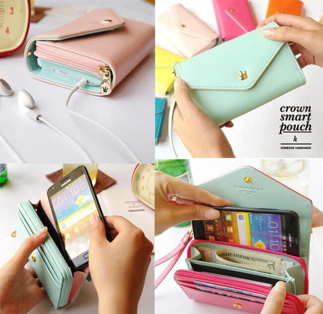 ... Envelope Wallet Purse Phone Case for Iphone 5, Galaxy S2 S3 : eBay