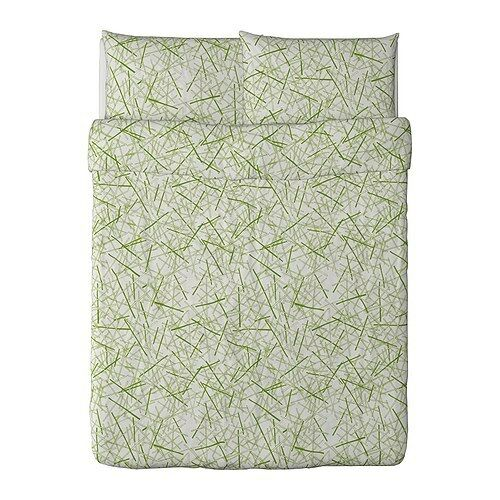 New ikea gr nkulla duvet cover and pillowcase s queen ebay for Ikea bed covers sets queen