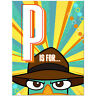 Phineas and Ferb Agent P  Party Supplies Invitations