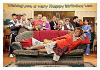 Personalised A5 Mrs Browns Boys Birthday Card Any Relation Age Dad Son Husband